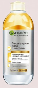 гарньер мицеллярная вода с маслами