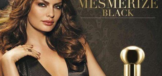 реклама женской версии аромата Mesmerize Black for Her от эйвон-1