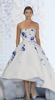 модные вечерние платья лето 2016, бюстье