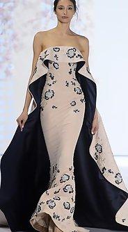 модные вечерние платья лето 2016 из ткани с цветочным принтом