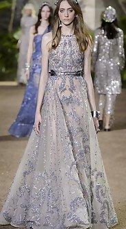 стразы и пайетки, модные вечерние платья лето 2016