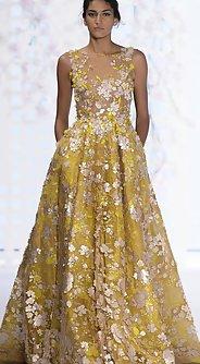стразы - модные вечерние платья лето 2016