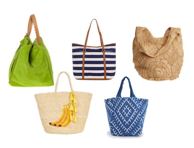 модные пляжные сумки лето 2016