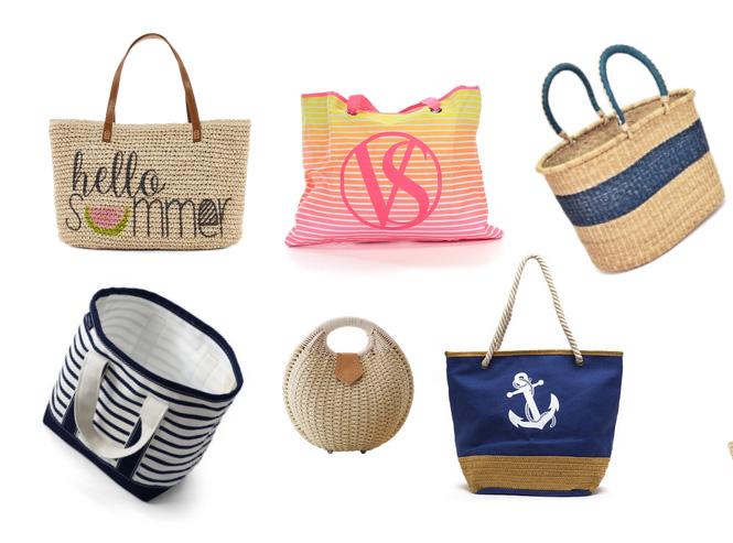 модные пляжные сумки на лето 2016
