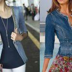 С чем сочетать джинсовый жакет?