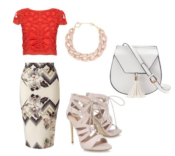 топ и юбка - модные сеты