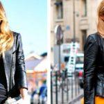 Кожаная куртка — must-have на осень