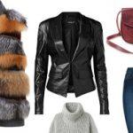 Меховой жилет — с чем носить осенью