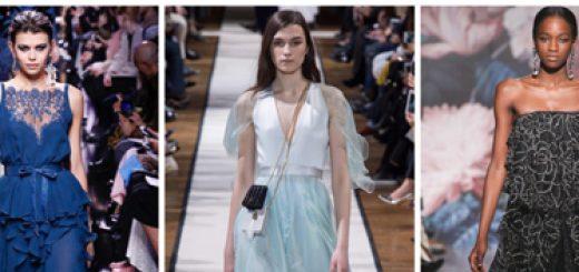 модные платья на Новый год - многослойность - картинка