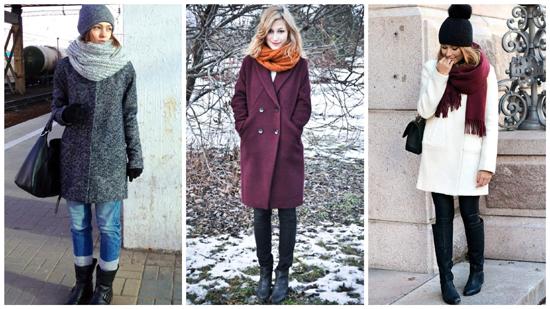 женский зимний стиль фото, пальто, зимний стиль одежды