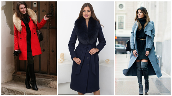 зимний стиль фото, женский зимний стиль, зимнее пальто