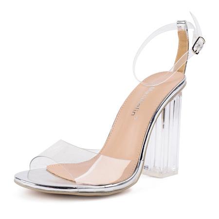 самая модная женская обувь лето 2018 - прозрачные босоножки