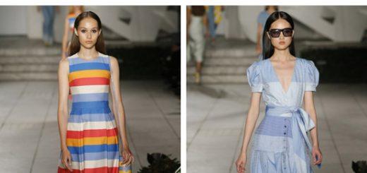самые модные платья на лето 2018 - обзор модных тенденций