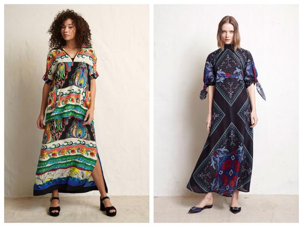 самые модные платья на лето 2018 - платье с геометрическим принтом