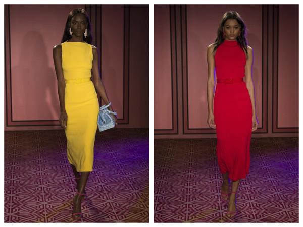 самые модные платья на лето 2018 - платья футляр