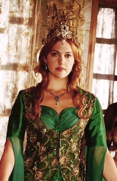 желтая корона хюррем султан