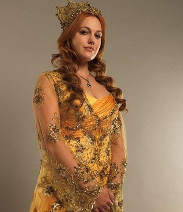 желтое платье хюррем султан
