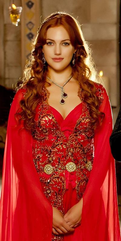 красное платье для хюррем султан