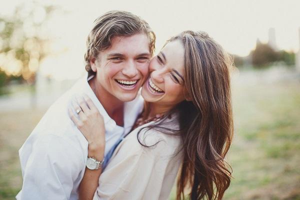 счастливая пара ,как удачно выйти замуж