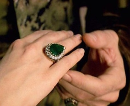 хюррем султан, изумрудное кольцо