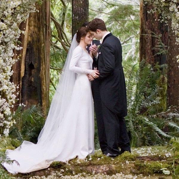 бэлла свон, свадебное платье из фильма