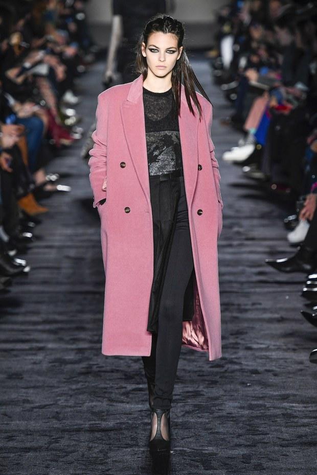 модное женское пальто осень зима 2018
