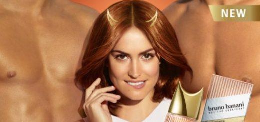 реклама нового женского аромата от Брно Банани