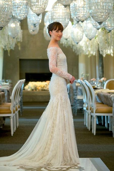 свадебное платье анастейши стил