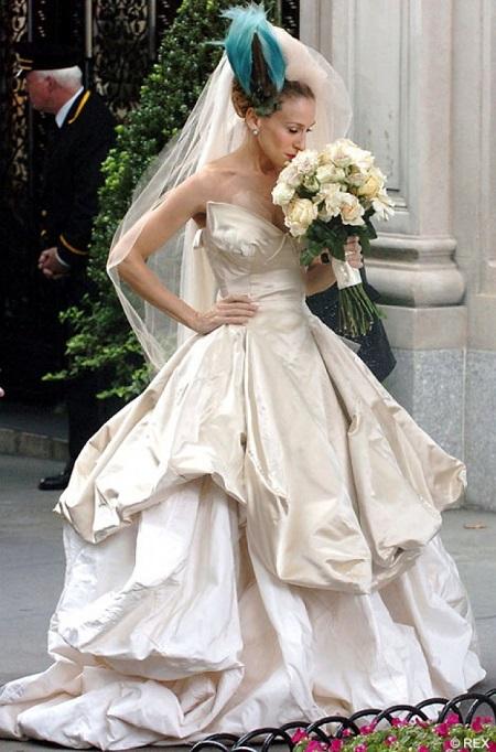 свадебное платье керри из фильма секс в большом городе