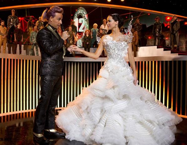 свадебное платье китнисс эвердин из фильма голодные игры