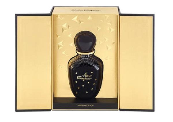 упаковка и флакон парфюмерной воды SALVATORE FERRAGAMO Amo Ferragamo Limited Edition