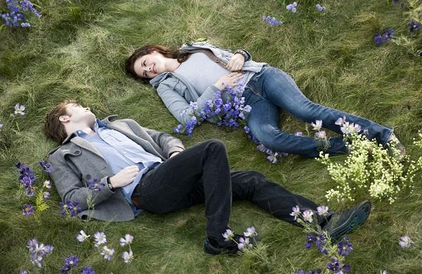 эдвард и бэлла на цветочном лугу