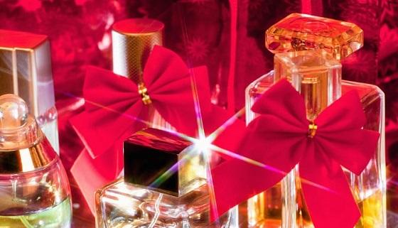 парфюмерная вода в подарок на новый год