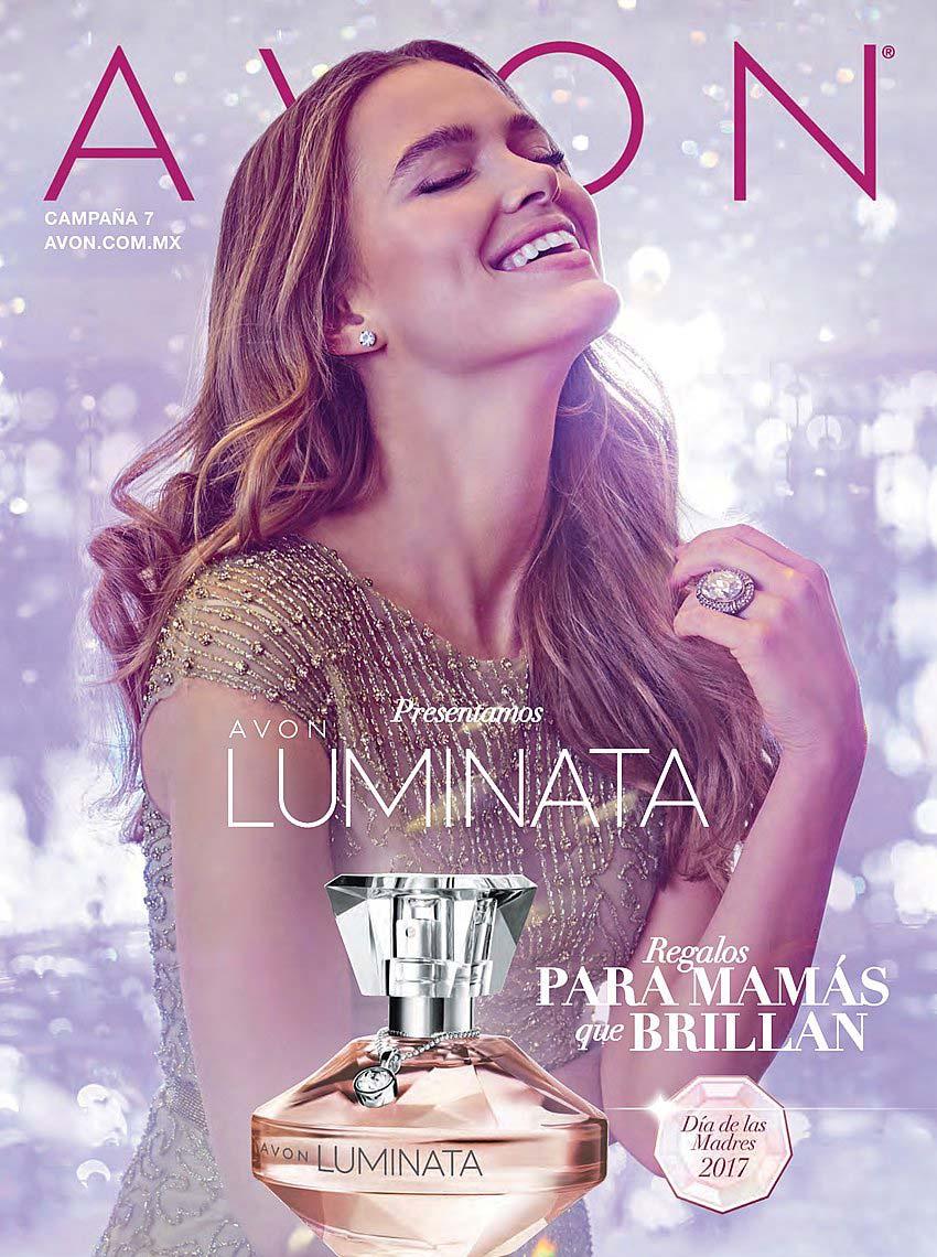 парфюмерная вода avon luminata - реклама