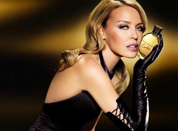 реклама аромата Couture от Кайли Миноуг