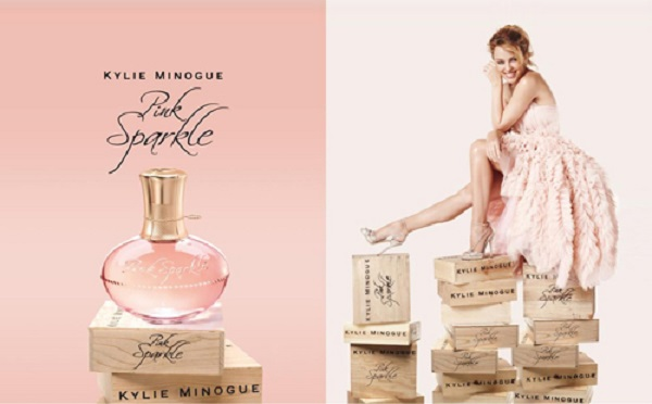 реклама аромата Pink Sparkle от Кайли Миноуг