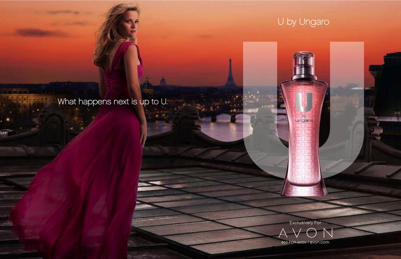 актриса риз уизерспун в рекламе аромата от эйвон