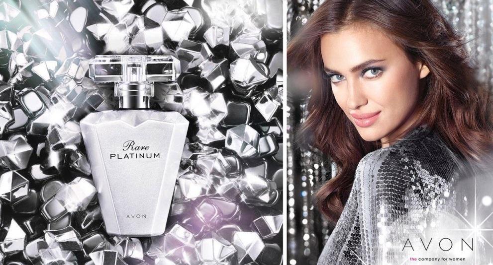 ирина шейк в рекламной кампании парфюмерной воды от эйвон