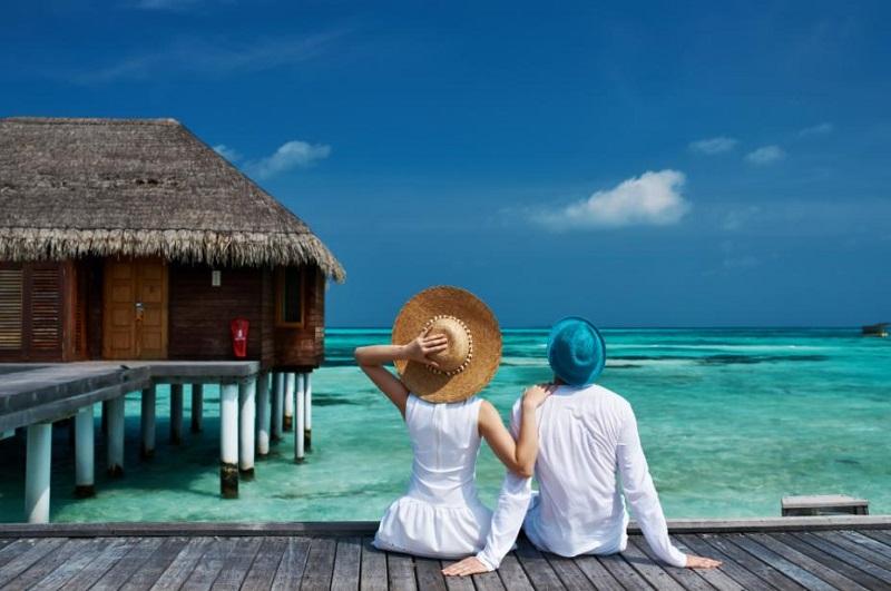 совместный отпуск пары на море