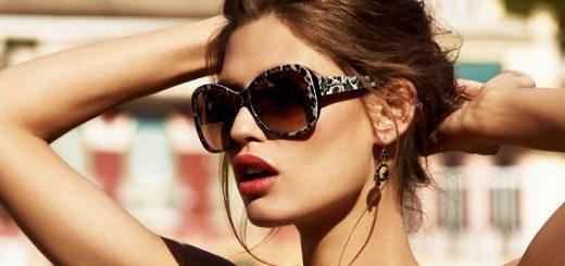стильные солнечные женские очки