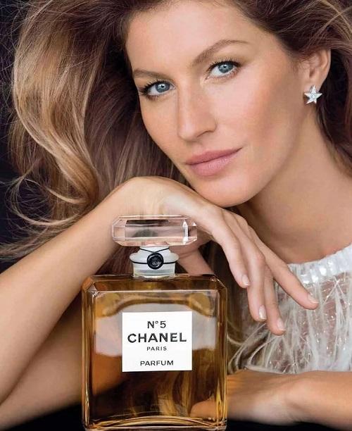 жизель бундхен в рекламе аромата шанель номер 5