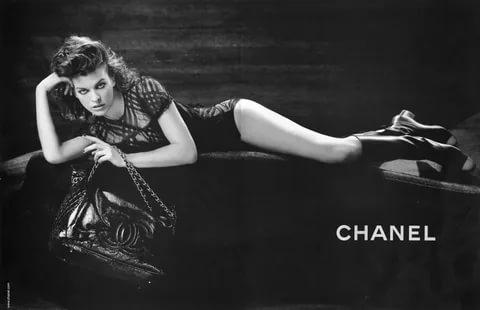 милла йовович в рекламной кампании шанель