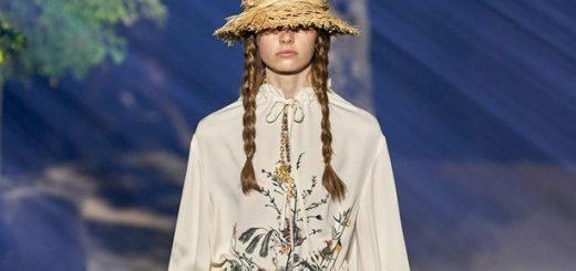 модный показ диор весна лето 2020, фото и видео