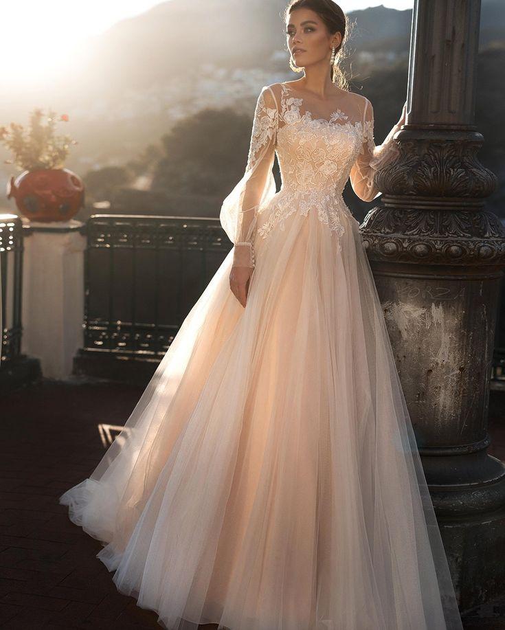 оригинальные рукава - свадебная мода 2020